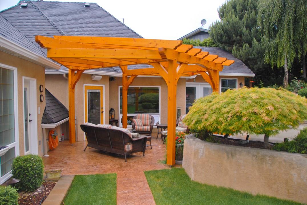 Timber Frame Gazebo, Pergola & Deck Structures