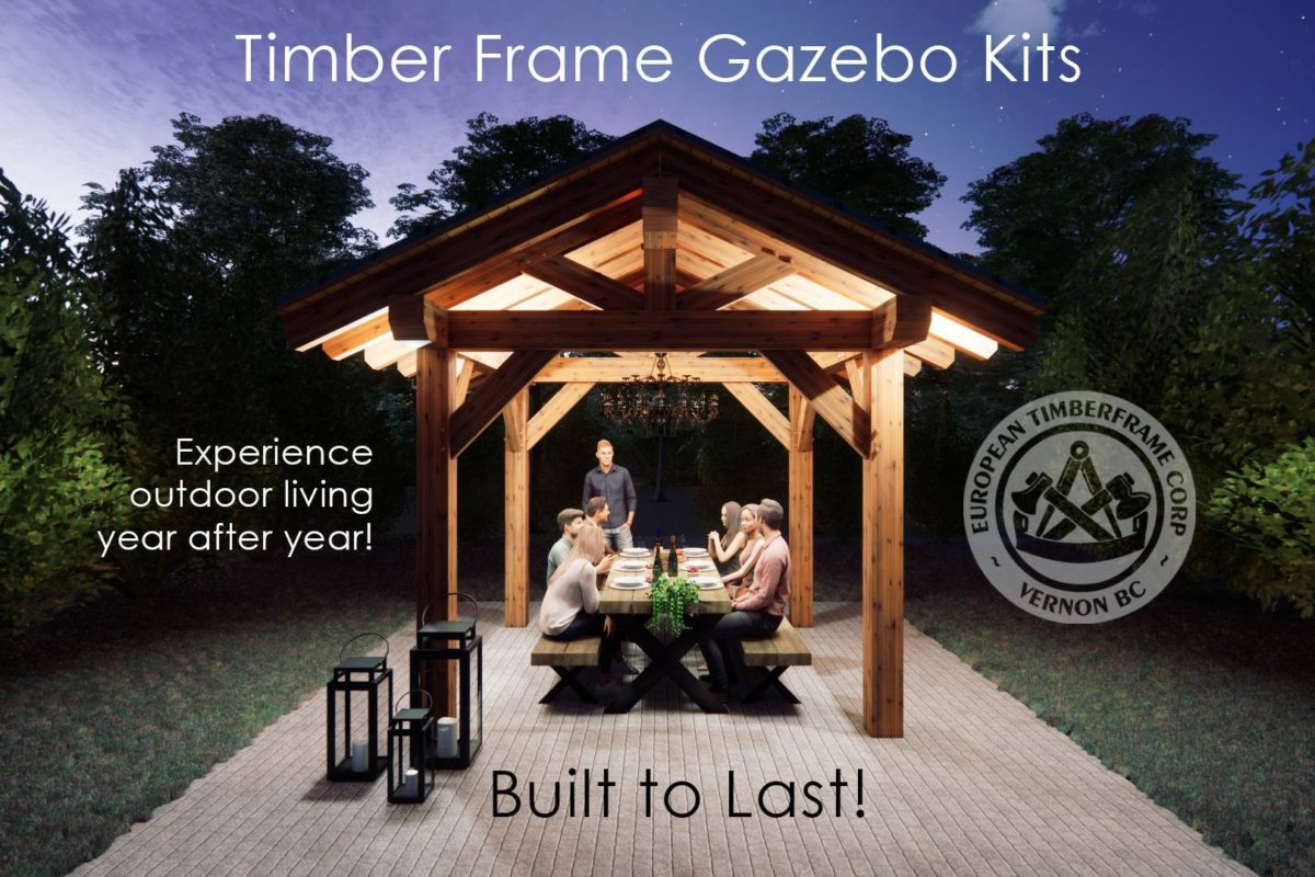 Timber Frame Gazebo Kits